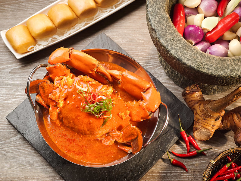Atrium Restaurant - Chilli Crab