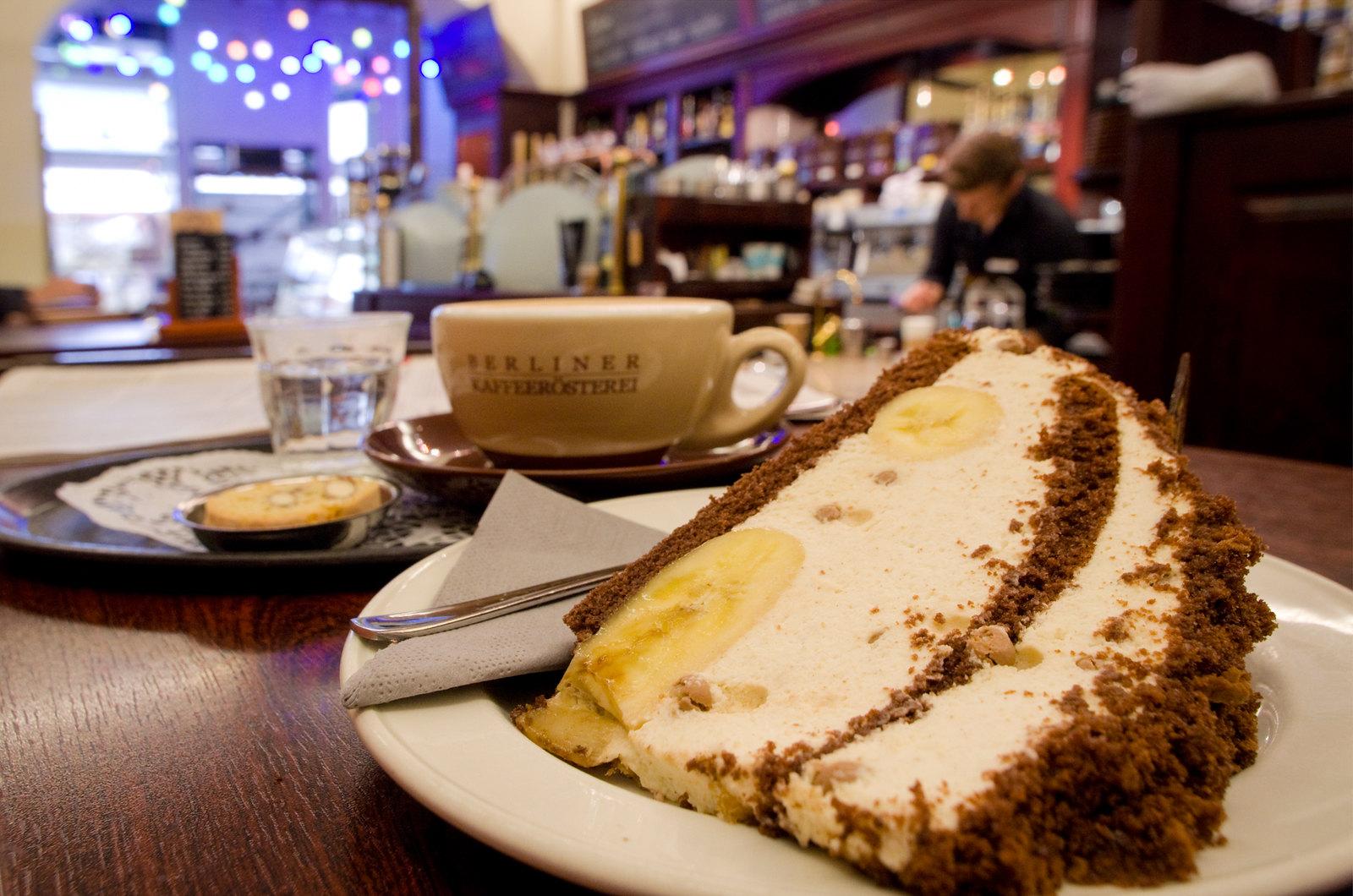Bons plans Berlin - Kaffee Kuchen au Kafeerösterei