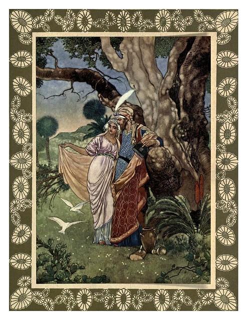 002-Rubáiyát of Omar Khayyám-1913- Ilustrado por René Bull