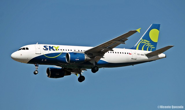 Airbus A319-111 / Sky Airline / CC-AHC