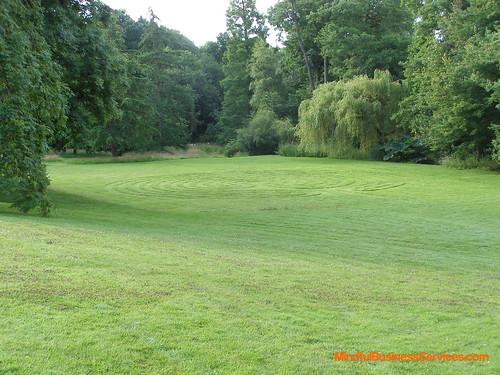 2008 07 12 Woodbrooke Labyrinth 1