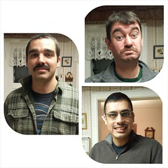The Family 'Mo-tastic#PhotoGrid #Movember #MoYeah