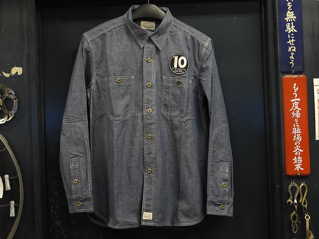 Rew10 Work Shirts  Chambray