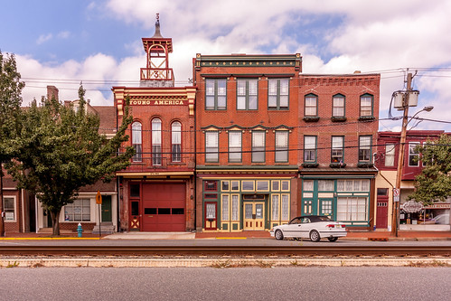 Broad Street in Burlington, NJ,
