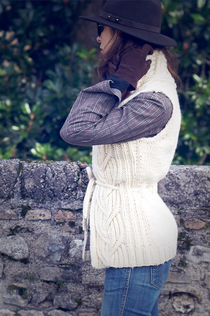 Norah Gaughan Cabled Vest