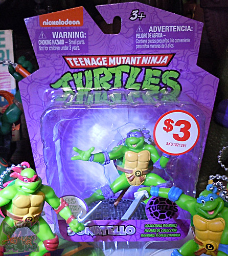MONOGRAM INTERNATIONAL :: TEENAGE MUTANT NINJA TURTLES; COLLECTIBLE FIGURINES xiii / DONATELLO (( 2014 ))