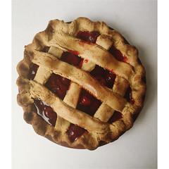 Primitive Cherry Pie Decor Scented Farmhouse Fake…