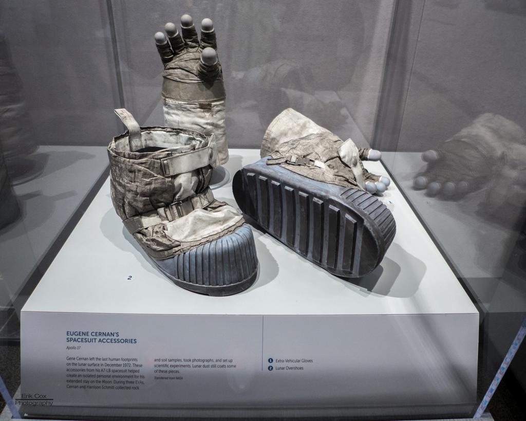 Gene Cernan's Moonboots and Glove