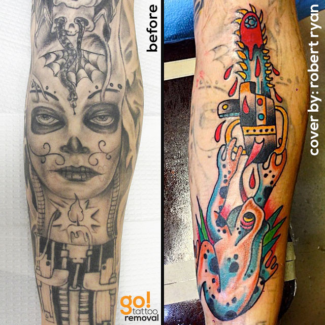 Tattoo Removal to Tattoo Cover-Up | GO! Tattoo Removal