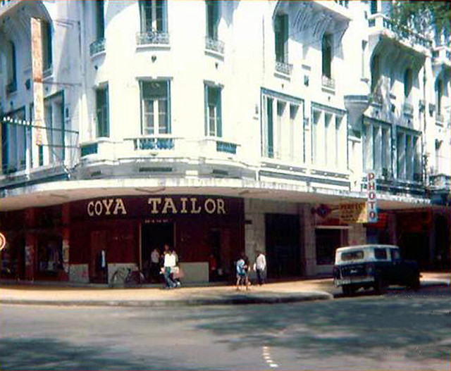 SAIGON 1968 - Coya Tailor - KS Saigon Palace, góc Tự Do-Ngô Đức Kế