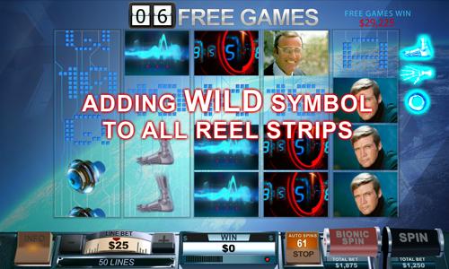 free The Six Million Dollar Man Free Games Win
