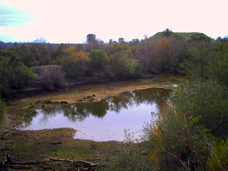 Dry pond, Mississippi Bar
