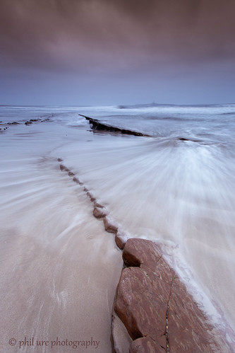 seascape canon sand rocks waves northumberland northsea northeast whoosh amble coquetisland canon6d lowhauxley
