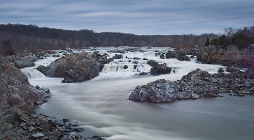 Great Falls in Winter by Geoff Livingston
