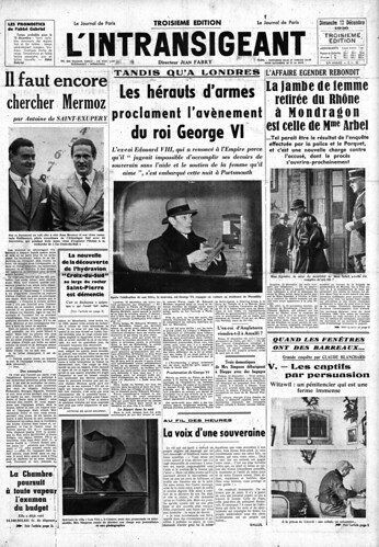 L'Intransigeant 13.12.1936 1