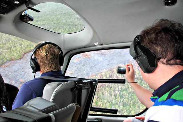 Helikopteriajelu Havaijin laavakentät