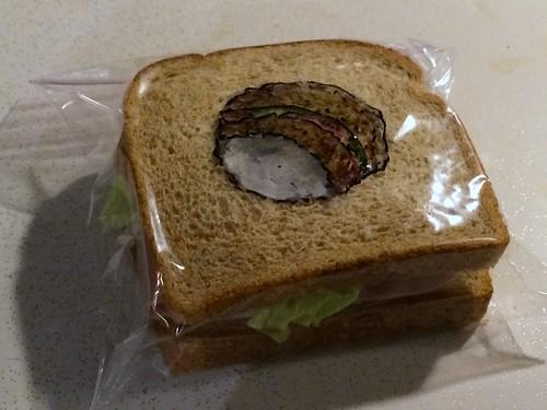 art bag hole sandwich sharpie trompeloeil ziploc attleboro laferriere