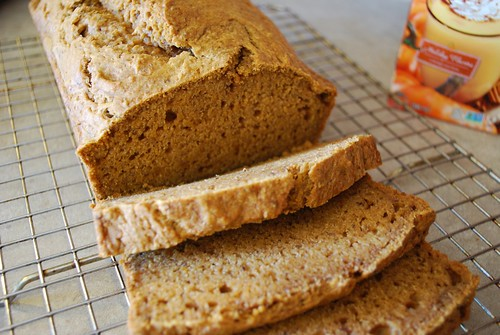 SO Delicious Pumpkin Bread