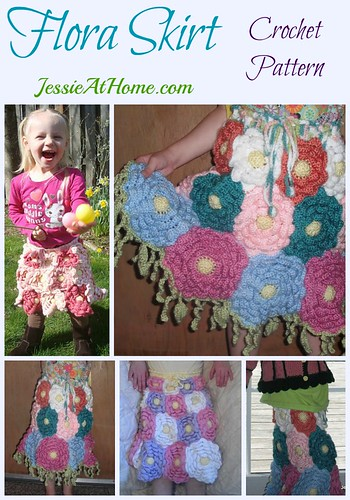Flora Skirt Crochet Pattern by Jessie At Home