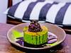 黑蜜紅豆抹茶熱蛋糕