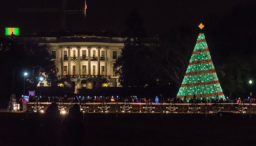 The White House During Christmas by Geoff Livingston