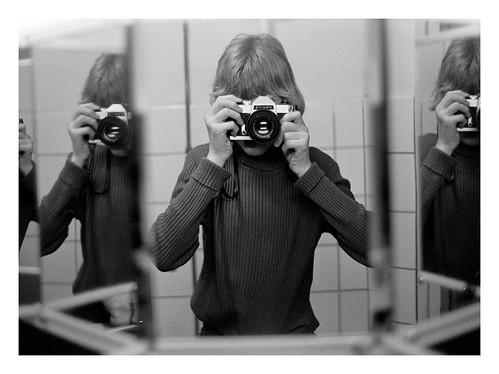 Chinon selfie 1977