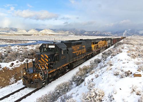 railroad up train unionpacific railfan riogrande emd sd40t2 drgw ljp45 sunnysideut
