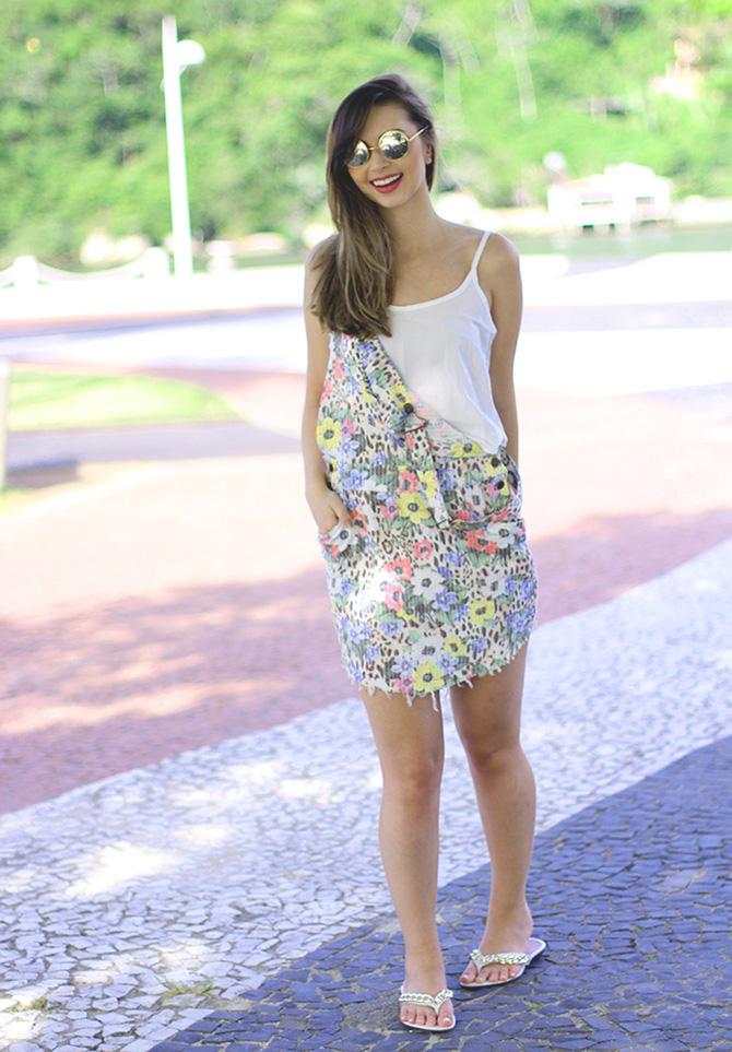 03-look do dia com jardineira estampada blog sempre glamour