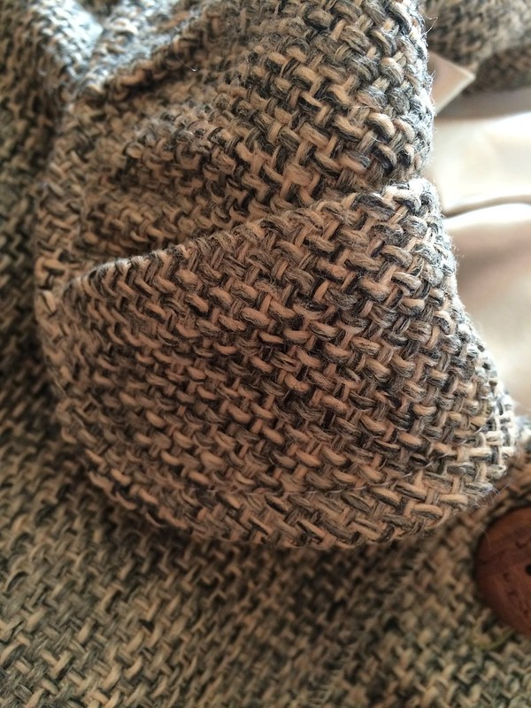 Cloned Basketweave Coat