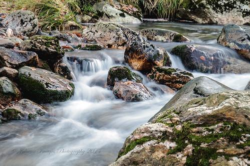 Below the Polanass waterfall