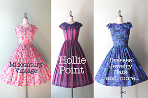 Hollie Point Vintage | Dresses, Jewelry, Hats and More!