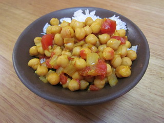 Indian-Spiced Chickpeas