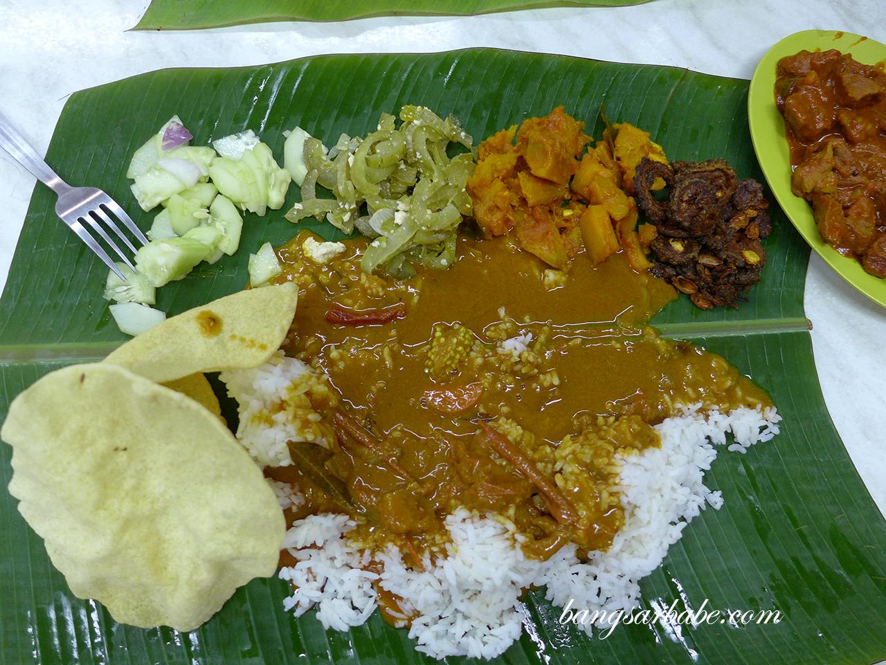 Ravi S Banana Leaf Solaris Mont Kiara Bangsar Babe