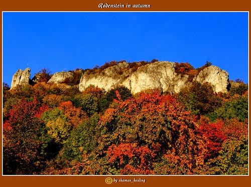 autumn colors germany bayern deutschland bavaria herbst farben fränkischeschweiz franconianswitzerland kirchehrenbach rodenstein