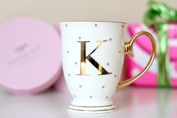 Bombay Duck Alphabet Spotty Mug K