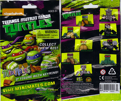 Nickelodeon  TEENAGE MUTANT NINJA TURTLES ; MINIMATES :: ..blind bag  (( 2014 ))