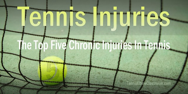 Top Five Chronic Tennis Injuries