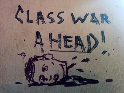 class war a head