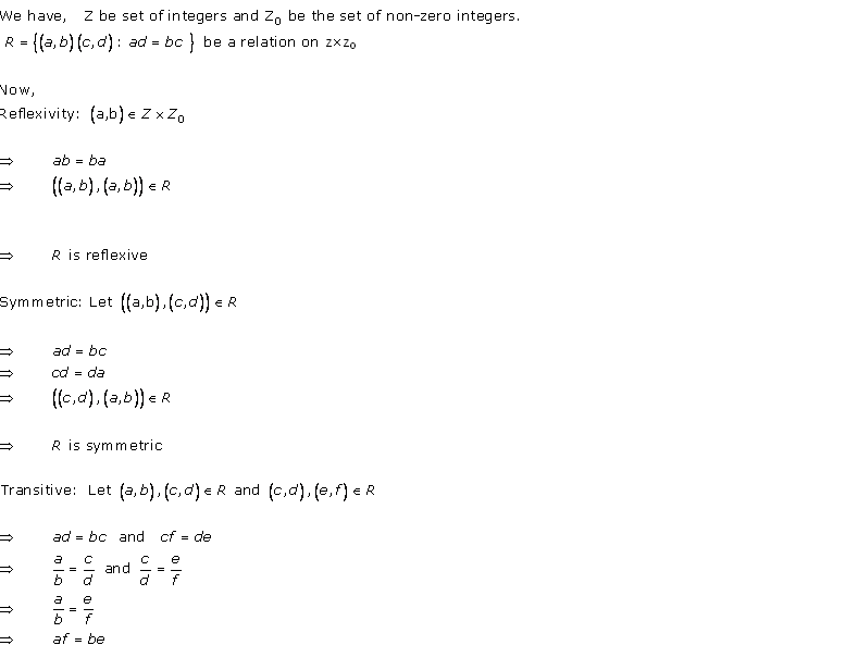 RD Sharma Class 12 Solutions Chapter 1 Relations Ex 1.2 Q14