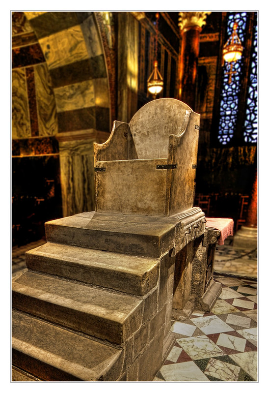 Aachen - Aachener Dom Throne of Charlemagne