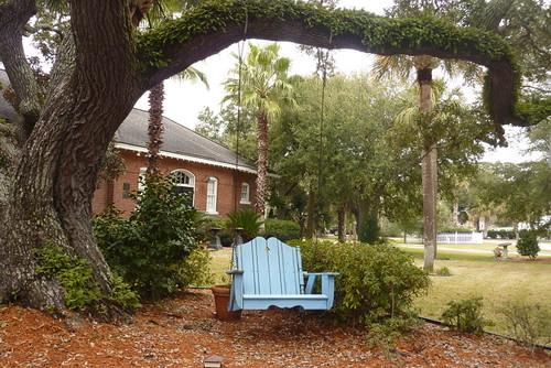 Tybee Island front garden