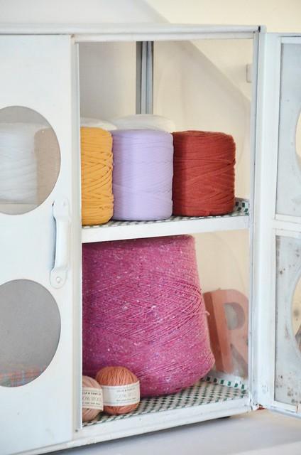 spool & wool cupboard
