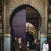 Waiting outside the Mosque by Patberg