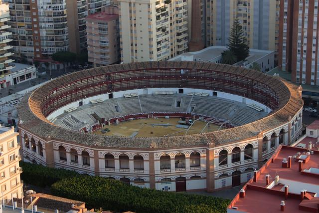 Malaga Bullfighting Ring - Spain