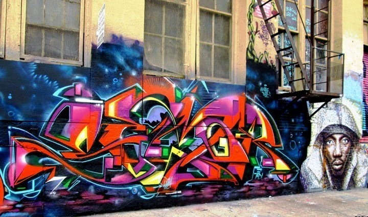 Semor-graffiti-and-JimmyC-street-art-at-5Pointz-in-Long-Island-City-NYC-