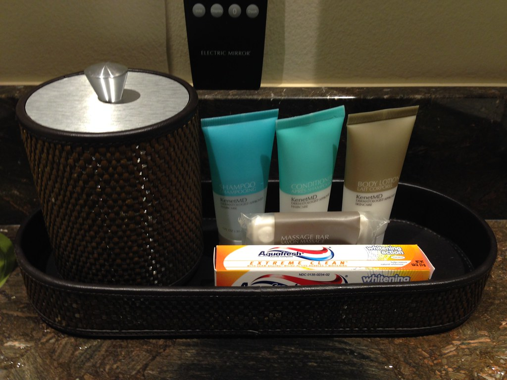 Bathroom Amenities in the Suite