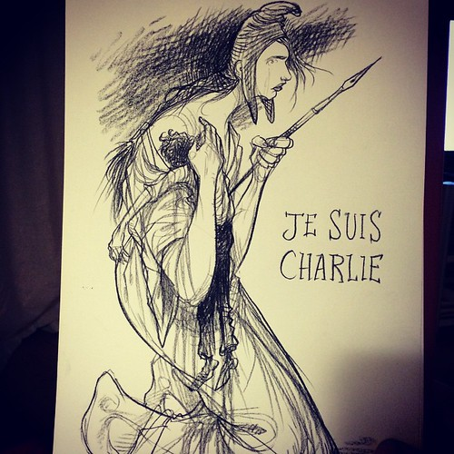 Chris Riddell, Je suis Charlie