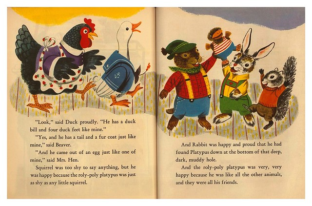 016-Rabbit and his Friends-  Escrito e ilustrado por  Richard Scarry- Copyright 1953-via goldengems.blogspot