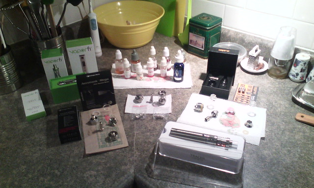Vaping stuff