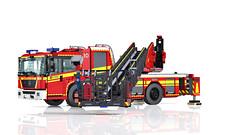 LEGO Econic/ Metz L32 turntable ladder - DLA (K) 23/12